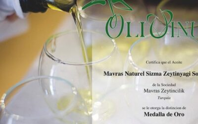 Mavras Won The Gold Medal At The Olivinus International Olive Oil Competition Held In Argentina